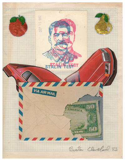 Buster Cleveland, 'Untitled (Stalin Test)', 1983