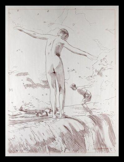Duncan Hannah, 'Skinny Dipping', 1996