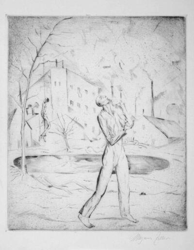 Magnus Zeller, 'Selbstmörder ', 1919