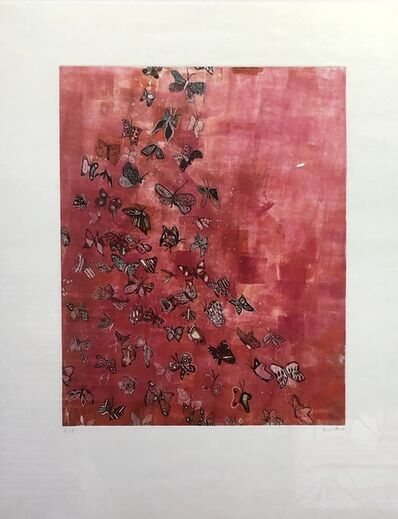 Fumiko Toda, 'Butterfly Away (Pink)', 2003