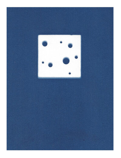 Sarah Irvin, 'Cyanotype Archive: Toy Cheese', 2020
