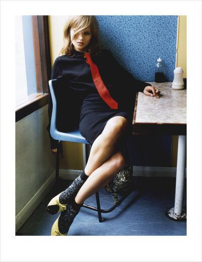 Mario Testino, 'Kate in Blue Cafe, 2005', 2005
