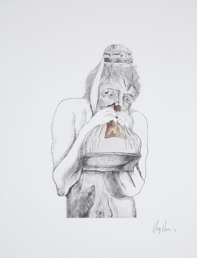Henry Hudson, 'Man Devouring Big Mac (10)', 2014