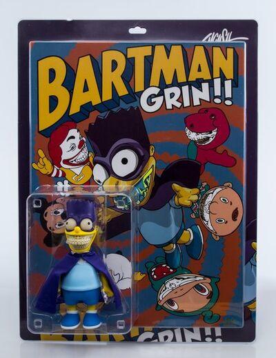 Ron English, 'Bartman Grin', 2016