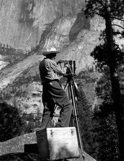 Imogen Cunningham, 'Ansel Adams, Yosemite Valley, 1953', c. 1979-2001