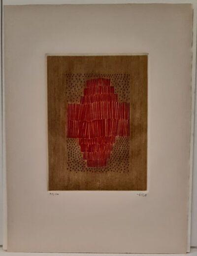 Arthur Luiz Piza, 'Rouge en croix ', 1983