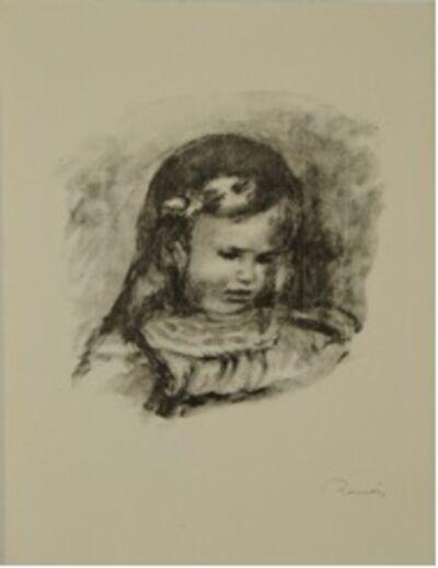 Pierre-Auguste Renoir, 'Claude Renoir, a Tete Baisee', 1904