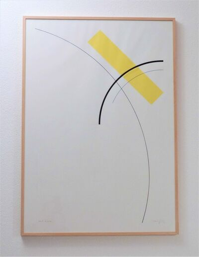 Gottfried Honegger, 'Etude Jaune', 2009
