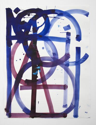 RETNA, 'Untitled (Purple 3)', 2021