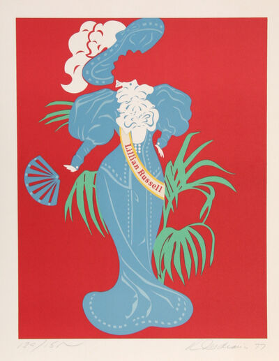 Robert Indiana, 'Lillian Russell from Mother of Us All', 1977