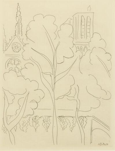 Henri Matisse, 'Notre Dame'