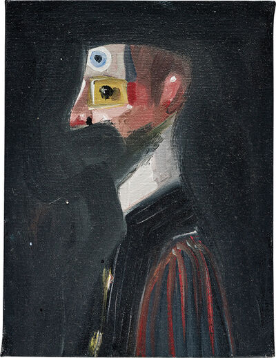 George Condo, 'The Old Sea Captain', 2004
