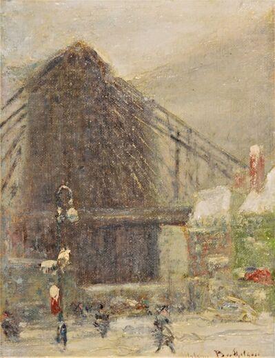 Johann Berthelsen, 'Brooklyn Bridge', ca. 1930