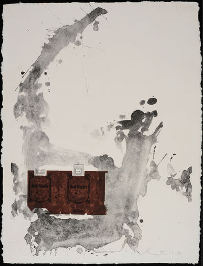 Robert Motherwell, 'Tobacco Roth-Handle', 1975