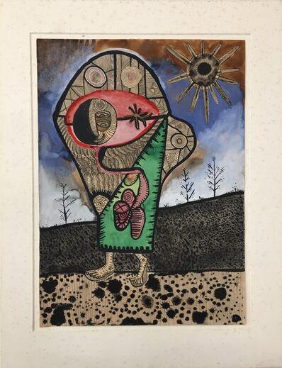 Joan Ponç, 'Figura y sol', 1948