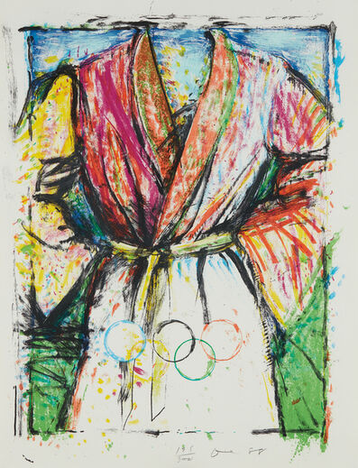 Jim Dine, 'Olympic Robe', 1988