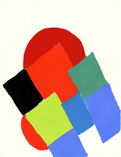 Sonia Delaunay, 'Les Ponts I', 1973