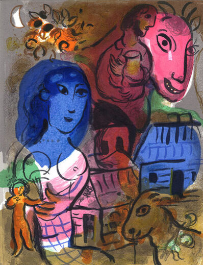 Marc Chagall, 'XXeme Century, Hommage a Marc Chagall ', 1969
