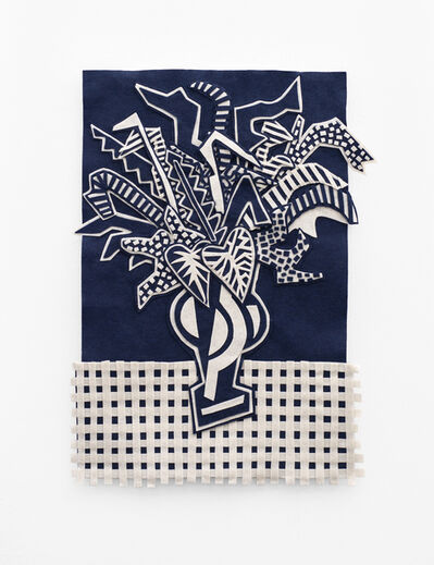Jody Paulsen, 'Midnight Blue and Ivory IV', 2020