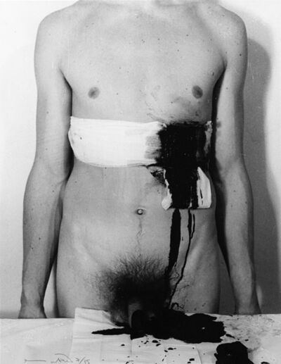 Hermann Nitsch, 'Aktion', 1965