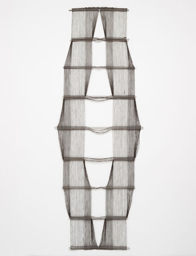 Peter Collingwood, 'Untitled (Black Macrogauze)', 1973