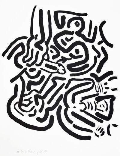 Keith Haring, 'Keith Haring, Bad Boys, 1986, portfolio of 6 screenprints.', 1986
