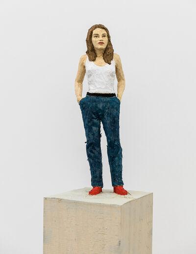 Stephan Balkenhol, 'Woman in Jeans', 2019
