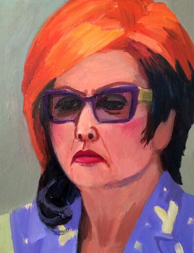 Anna Lukashevsky, 'Head of a Woman No. 4', 2016