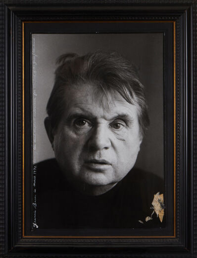 Peter Beard, 'Francis Bacon in March', 1972