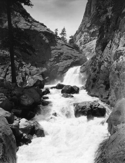 Ansel Adams, 'Roaring River Falls'