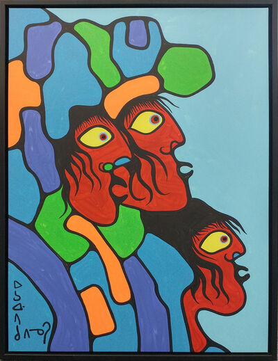 Norval Morrisseau, 'Untitled (Three Wise Men)', ca. 1983