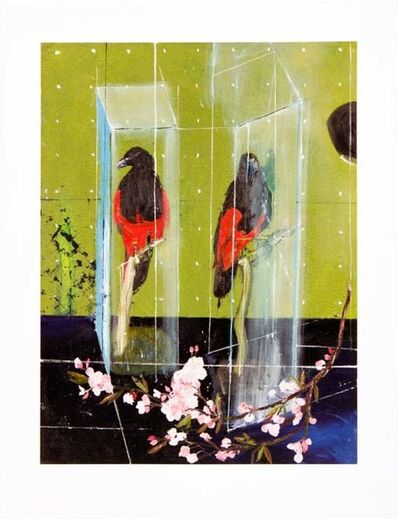 Damien Hirst, 'Two Parrots', 2012