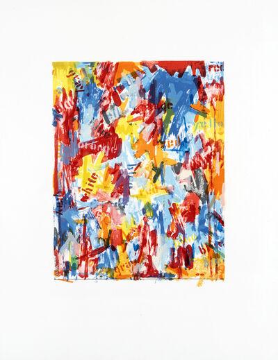 Jasper Johns, 'False Start I, Flase Start II & Painting With Two Balls I', 1962