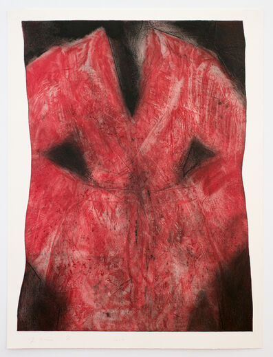 Jim Dine, 'Pink Robe', 2014