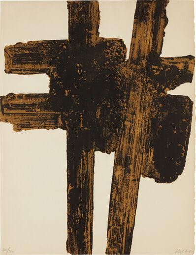 Pierre Soulages, 'Eau-forte XVIII', 1962