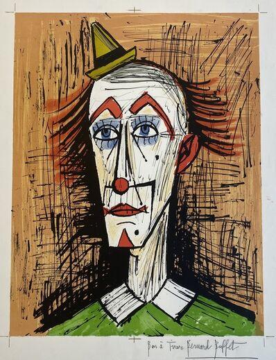 Bernard Buffet, 'Clown au petit chapeau', 1995