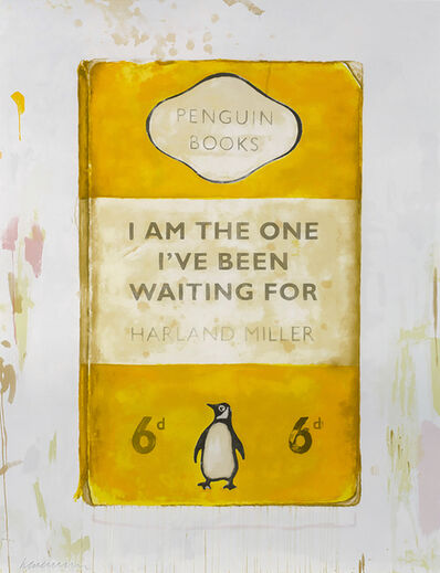 Harland Miller, 'I Am The One Ive Been Waiting For', 2016