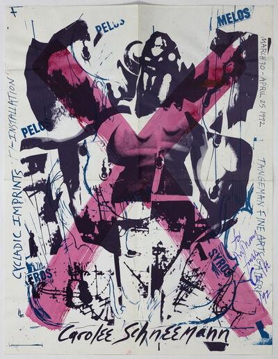 Carolee Schneemann, 'Cycladic imprints', 1992