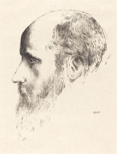 Odilon Redon, 'Edouard Vuillard', 1900