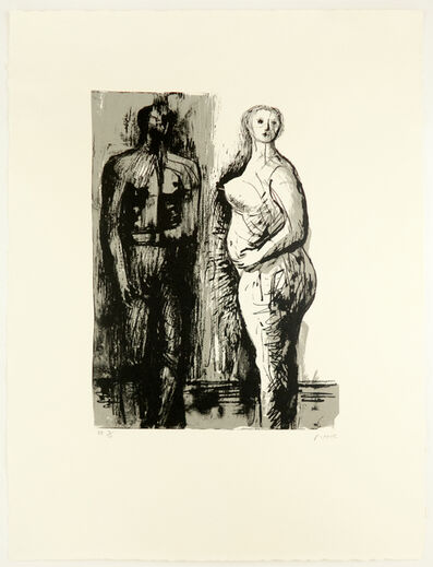 Henry Moore, 'Man and Woman', 1973