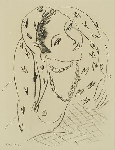 Henri Matisse, 'L19 (Diseno Para La Serie 0)', 1942