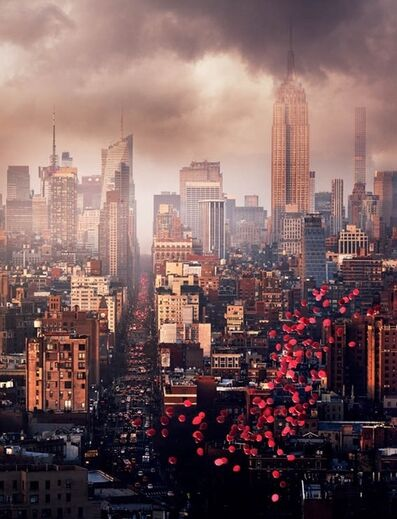David Drebin, 'Balloons Over New York', 2016