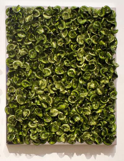 Dani Marti, 'Green on Green (Dark/Mixed)', 2019