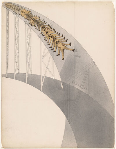 László Moholy-Nagy, 'Rutschbahn (Slide)', 1923