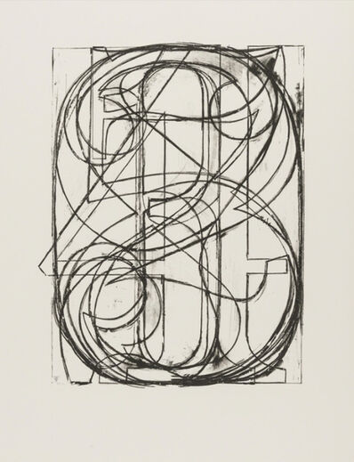 Jasper Johns, '0 through 9 (facsimile print using same paper, color and printing sequence as original edition)', 1975