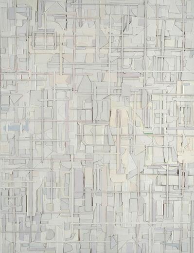 Matt Gonzalez, 'Supple-whirl, variations in white', 2019