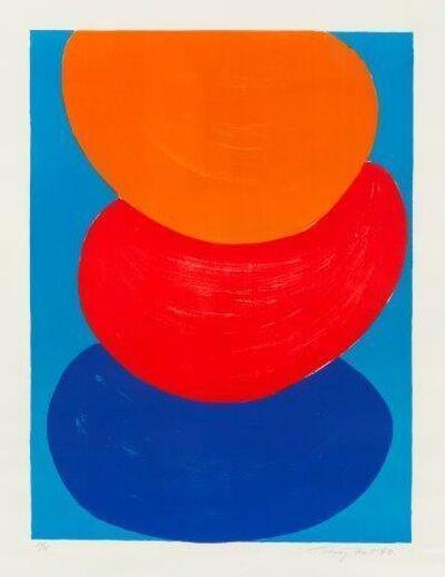 Sir Terry Frost, 'Ochre, Red, Blue [Kemp 50]', 1969