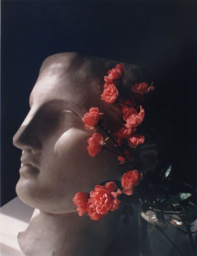 Horst P. Horst, 'Roses with Antique Head'