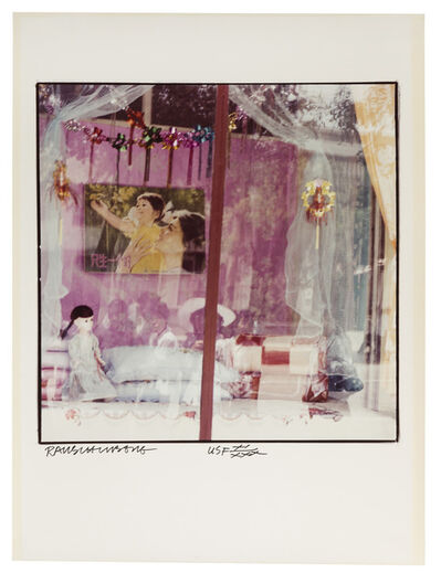 Robert Rauschenberg, 'Pink Window', 1983