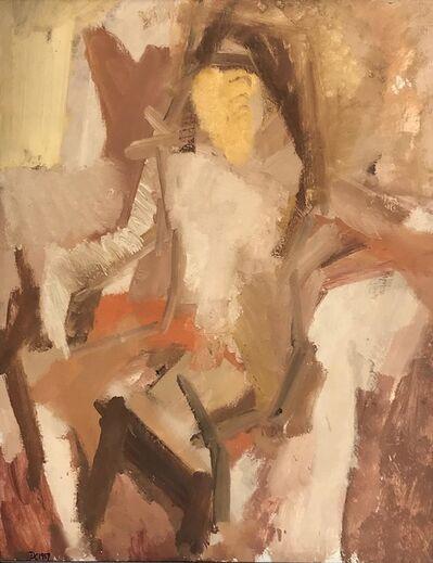 Dennis Creffield, 'Seated Nude', 1959